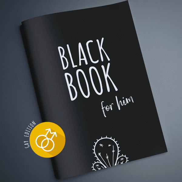 Black Book für den Mann Gay Edition